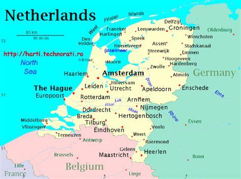 Harta Germaniei: harta rutiera, regiuni si orase din Germania
