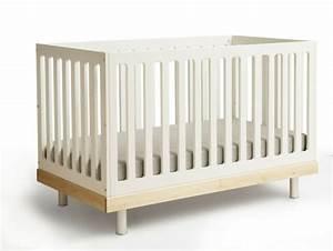 Lit Bebe Blanc Et Bois : chambre enfant lit bebe bois blanc baby mod olivia 20 id es originales le lit b b de design ~ Teatrodelosmanantiales.com Idées de Décoration