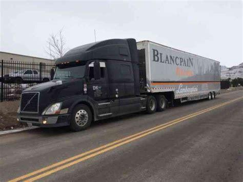 2012 volvo big rig volvo vnl780 2012 sleeper semi trucks