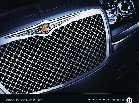 2010 Chrysler 300 Accessories 2010 chrysler 300 dealer accessories sales brochure ebay