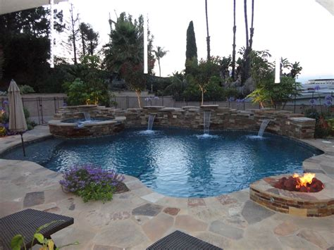 patio pools and spas entertainment pool and spa patio gemini 2 landscape