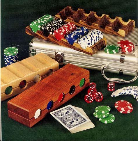 poker chip tray plans woodarchivist