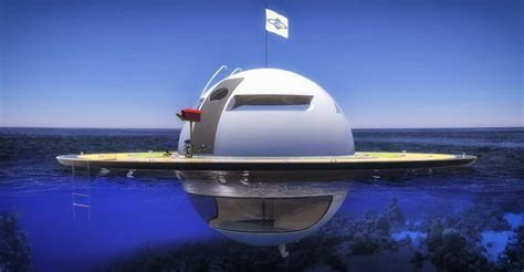 Floating Boat House Ufo by Would You Live Grid In A Floating Ufo Home Ufoholic
