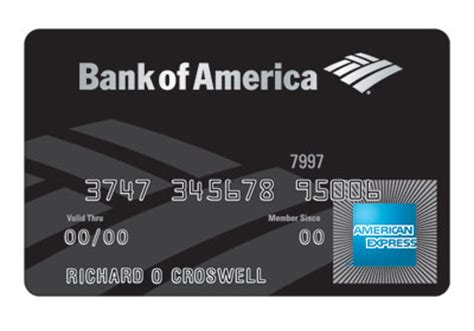 This includes the bank of america® travel rewards card, bank of america® travel rewards credit card for students, and the business advantage travel rewards world mastercard®. TITO CLEETUS: The World's Most Exclusive Credit Cards