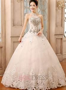 halter rhinestone ball gown wedding dress wedding dresses With halter ball gown wedding dresses