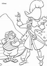 Hook Captain Disney Printable Coloring Pages Ship Crochet Sheets sketch template