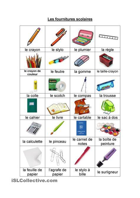 bureau traduction espagnol les fournitures scolaires consultez aussi http