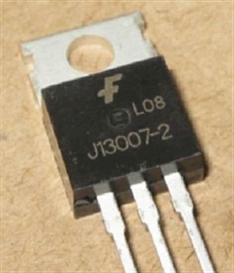 J13007-2 Datasheet PDF - Fairchild Semiconductor