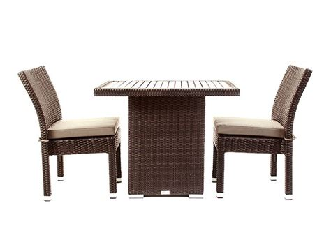 table 6 chaises balcony patio furniture condo outdoor dining table ogni