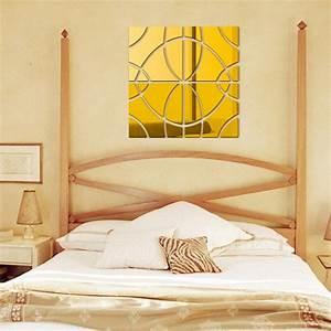 Bedroom mirror wall decor : New bedroom decor mirror wall stickers diy