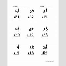 Touch Math Double Digit Addition Worksheets By Lisa's Learning Shop