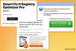 Remove Smart Fix It Registry Optimizer Pro  Free Guide