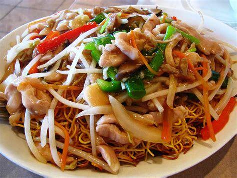 recettes de cuisine chinoise recette nouilles chinoises poulet légumes