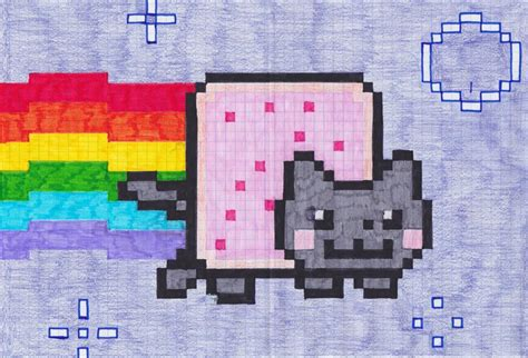 Nyan Cat By Majesticaljosh On Deviantart