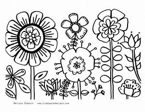 free printable coloring pages summer - summer flowers printable coloring pages free large images