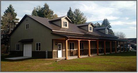 Haus Aus Stahl Bauen by Pole Barns In Sheboygan Wi Area Steel Building