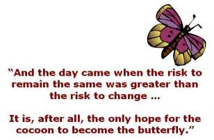 Butterfly and Hope Quotes