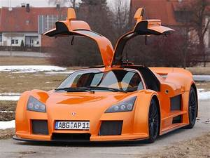 2006 Gumpert Apollo - Front Angle Open Doors Orange ...