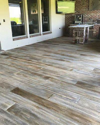 commercial residential stained concrete flooring