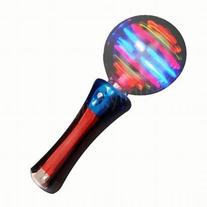 Wand Magic Spinning Ball Lights Rainbow Brilliant