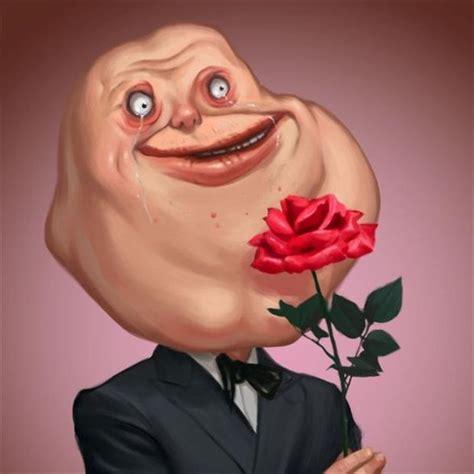 Rose Meme - forever alone rose meme dump a day