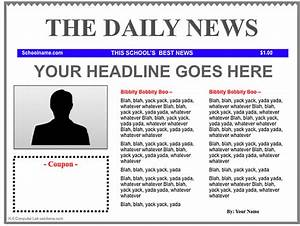 3 good ipad newspaper templates for teachers educational With google docs newspaper template student