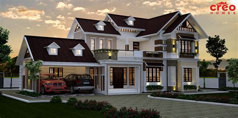 3274 Sq Ft Double Floor Contemporary Home Design