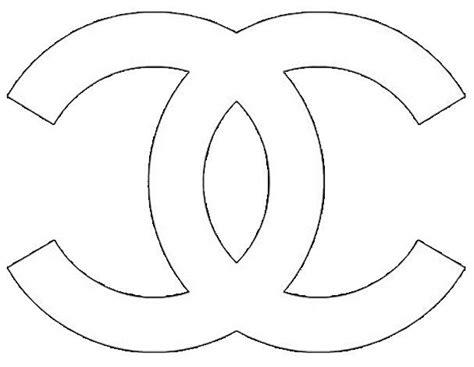 Chanel Logo Stencil