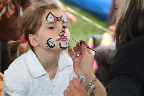 kinderschminken anleitung mit  tipps