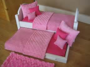 american girl doll bed trundle bed 18 inch doll by