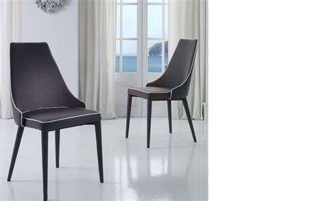 chaise blanche salle a manger chaise salle a manger grise et blanche design roan lot de 2