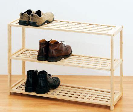 tier wooden shoe shelf