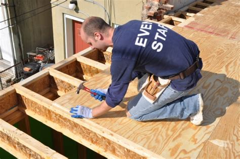 install subfloor how to install a plywood subfloor one project closer