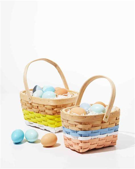 easter baskets 31 awesome easter basket ideas martha stewart