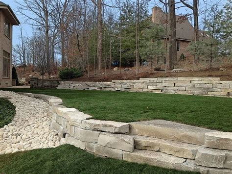retaining walls landscape lighting landscape other