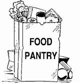 Pantry Food Clipart Clip Bank Drive Items Church Cliparts Needed Pages Break Spring Stefans Join Fun Library Donations Peanut Butter sketch template