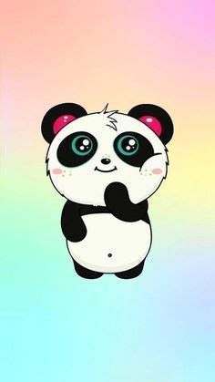 cute panda love galaxy panda wallpaper heart love