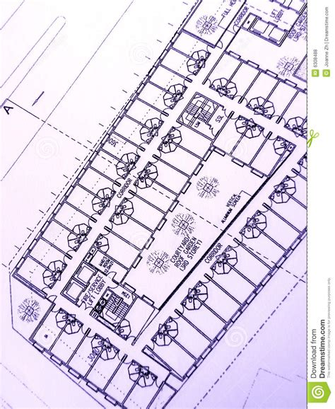 plan des bureaux plan de construction immeuble de bureaux photos libres de
