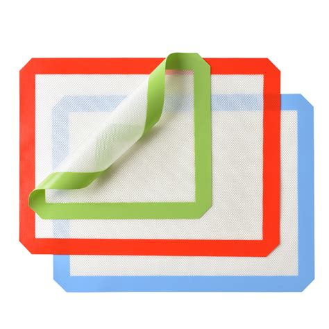 baking silicone mat heat resistant sheet cookie sheets non stick liner silpat walmart kitchen 1s pcs