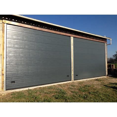 grande porte de garage porte garage sectionnelle grande largeur zhitopw