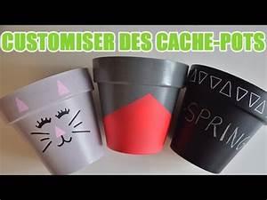 apprendre a decorer des caches pots decoration pot de With pot de fleur d interieur