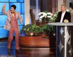 Katy Perry dresses like a man as she fulfills her teenage dream on Ellen Degeneres chat show ...