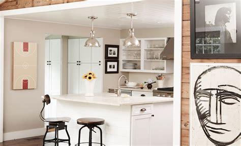 Vintage Architect's Stools   Cottage   kitchen   Blair