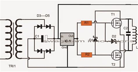Simple Induction Heater Circuit Hot Plate Cooker