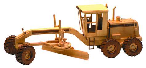 road grader  woodworking plan