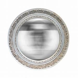 Petit Miroir Rond : miroir rond cisel argent ~ Teatrodelosmanantiales.com Idées de Décoration
