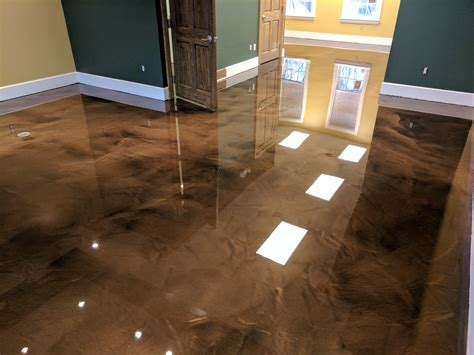 epoxy flooring metallic epoxy flooring pcc columbus ohio