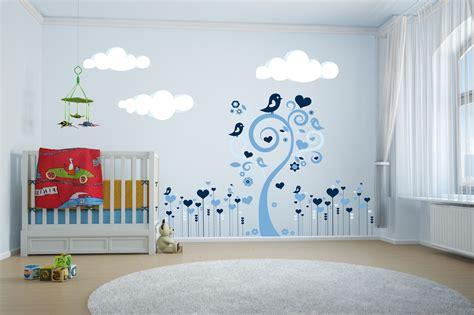 stickers de chambre stickers arbre chambre bébé garcon chambre idées de