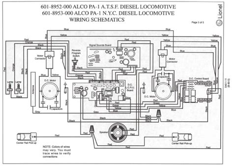wiring diagram for lionel 6 18573 pictures added o railroading on line forum