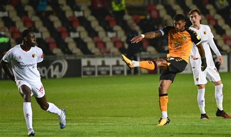 REPORT   Exiles complete cup upset against Watford to ...